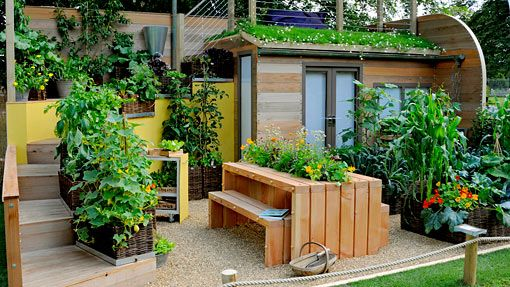 Amazing gardening in small 510 287 garden creativity pinterest gardens home for Amazing small gardens
