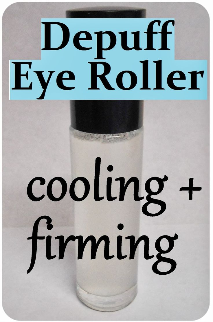 Maria Sself Chekmarev  DIY Anti Puff Eye Roller  Cooling  Firming   Anti Aging   C Homemade Recipe for Under Eye Circles and Bags