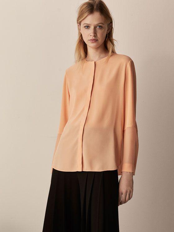 Blusas y camisas de mujer | Massimo Dutti Avance Primavera 2018