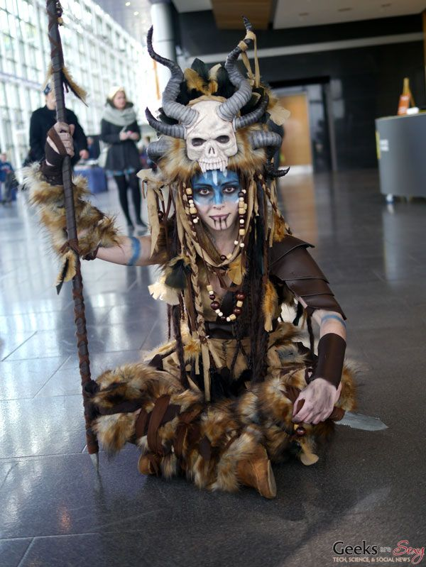 Witch Doctor #cosplay Quebec City Comiccon 2015