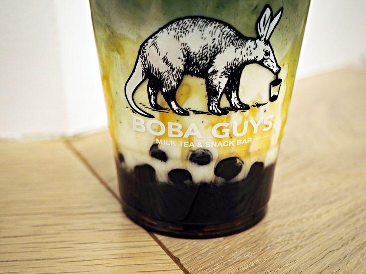 Green Tea Matcha bubble tea from Boba Guys NYC!  http://styledupstate.com/crazy-for-boba-guys/