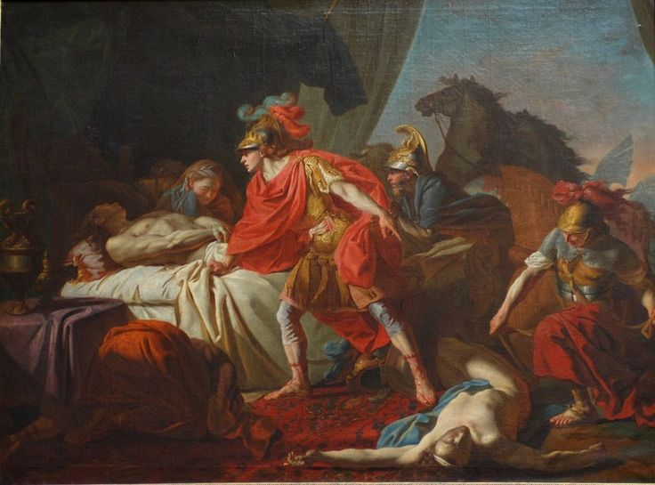 priam and achilles relationship with the gods