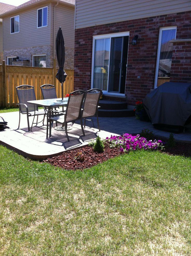 13 best backyard ideas images on pinterest | concrete patio ... - Concrete Patio Ideas Backyard