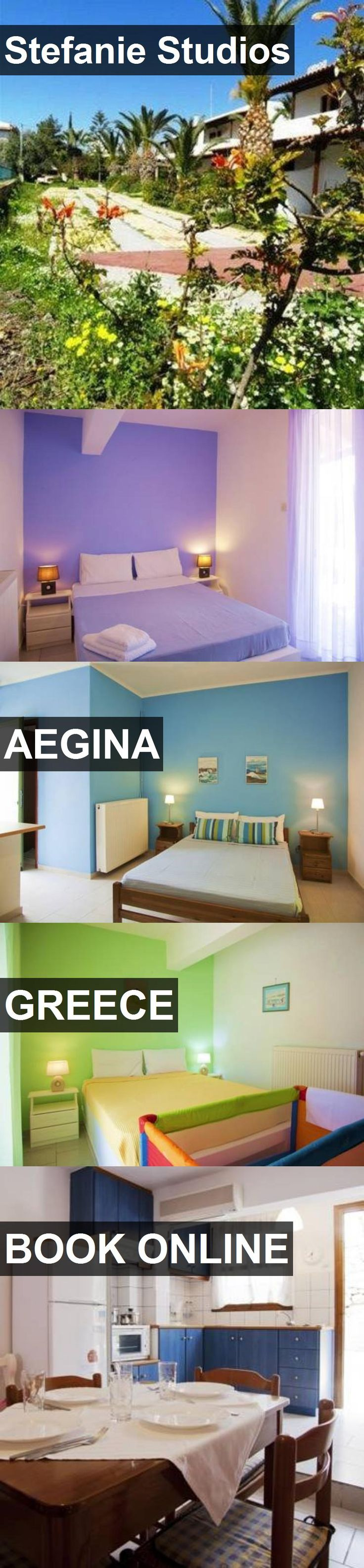 Hotel Stefanie Studios in Aegina, Greece. For more information, photos, reviews and best prices please follow the link. #Greece #Aegina #travel #vacation #hotel