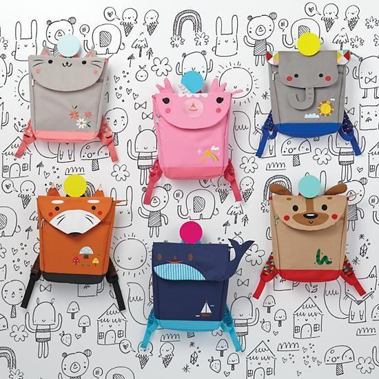 Teacher's Pet Kids Backpack (Whale) | The Land of Nod
