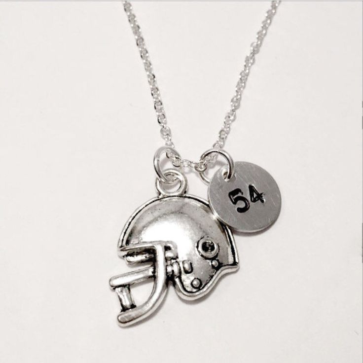 Are you ready for some football? Get your custom necklace or request a bracelet or keychain with your player's number and/or name!