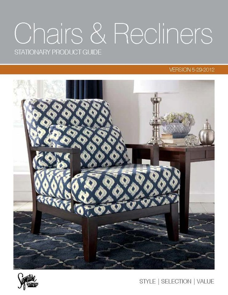 Ashley Hawaii Chair collection. A wide selection of colors styles and fabric choices.