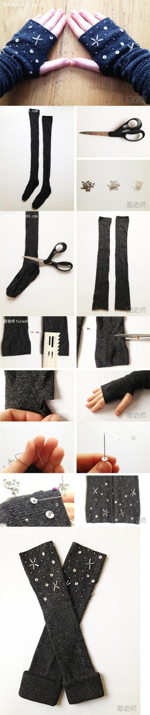 Winter wrist warmers from sox, a set in every coat color