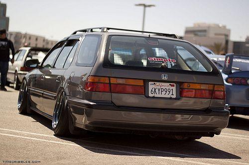 Craigslist Ventura Cars By Owner >> Slammed 95 Honda Accord Wagon | Upcomingcarshq.com