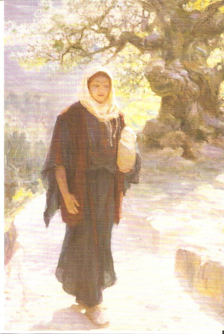 В.Д.Поленов. Мария пошла в Нагорную страну