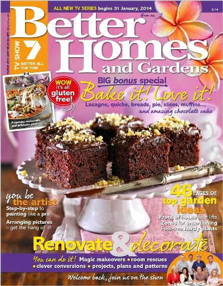 Better Homes and Gardens March 2014. Clipped from Better Homes and Gardens using Netpage.