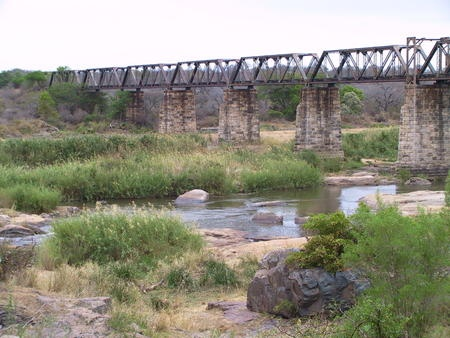 Selati Railway Bridge at Skukuza