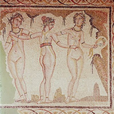 The 5-ladies on paper: Ancient times
