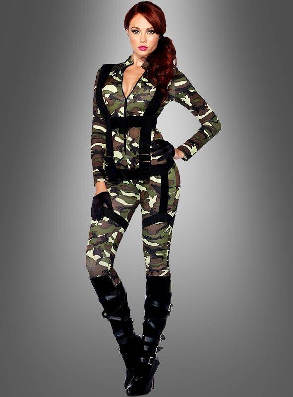 Armee Kostüm Damen bei » Kostümpalast.de
