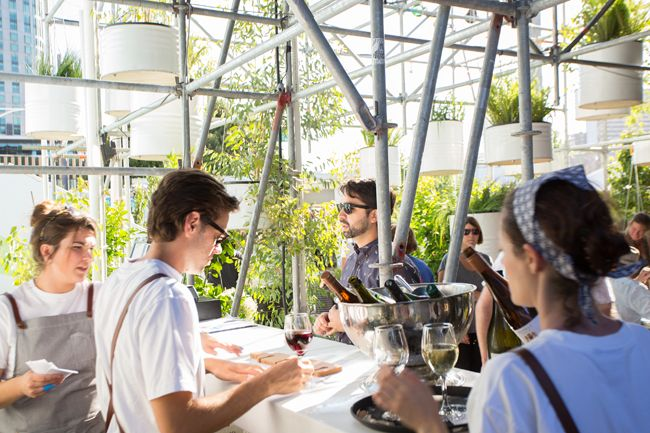 The Immersery festival hub by Hassell for Melbourne Food & Wine Festival - Vogue Living