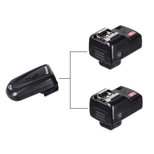 Радиосинхронизатор NiceFoto OTT-04GY (433 Mhz, 4 канала) с 2-мя приёмниками