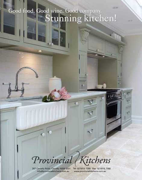 don't mind the colours, love the sink, contrast of the stove and the taps xx