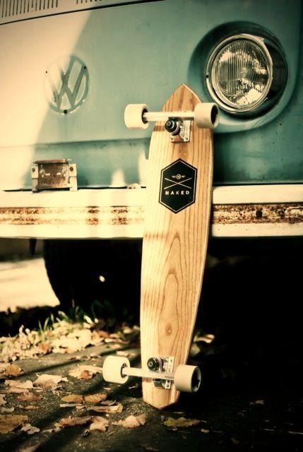 longboard deck minimalism