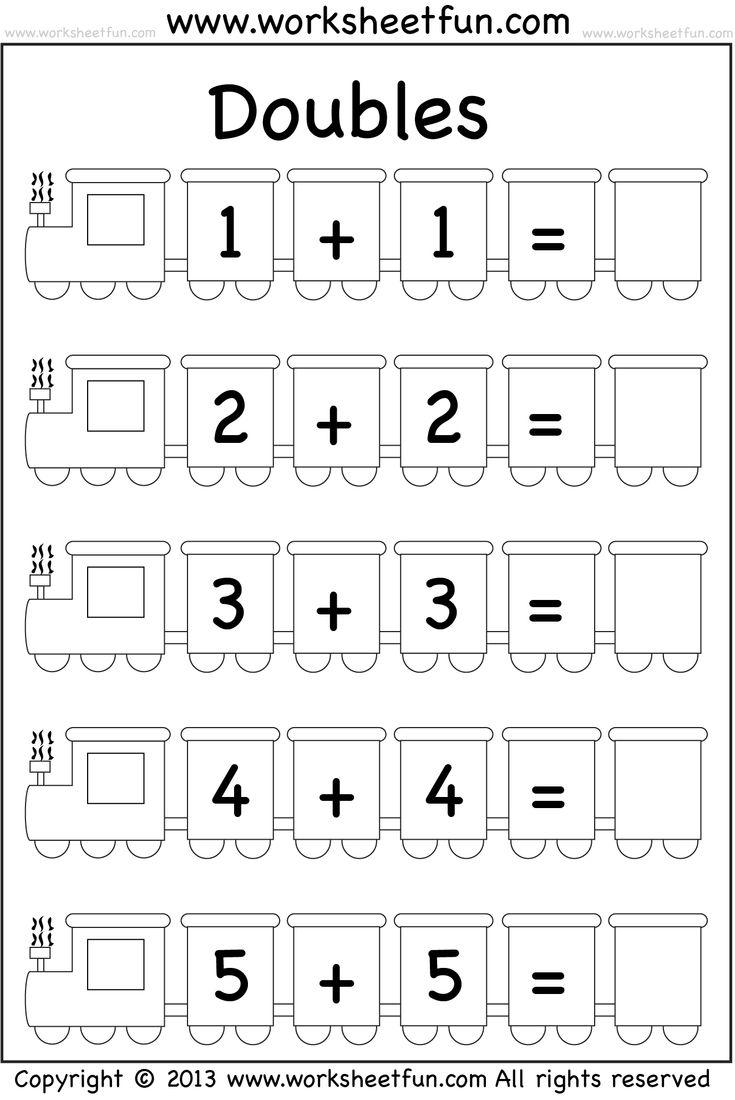 dice addition worksheet kindergarten dice domino math. Black Bedroom Furniture Sets. Home Design Ideas
