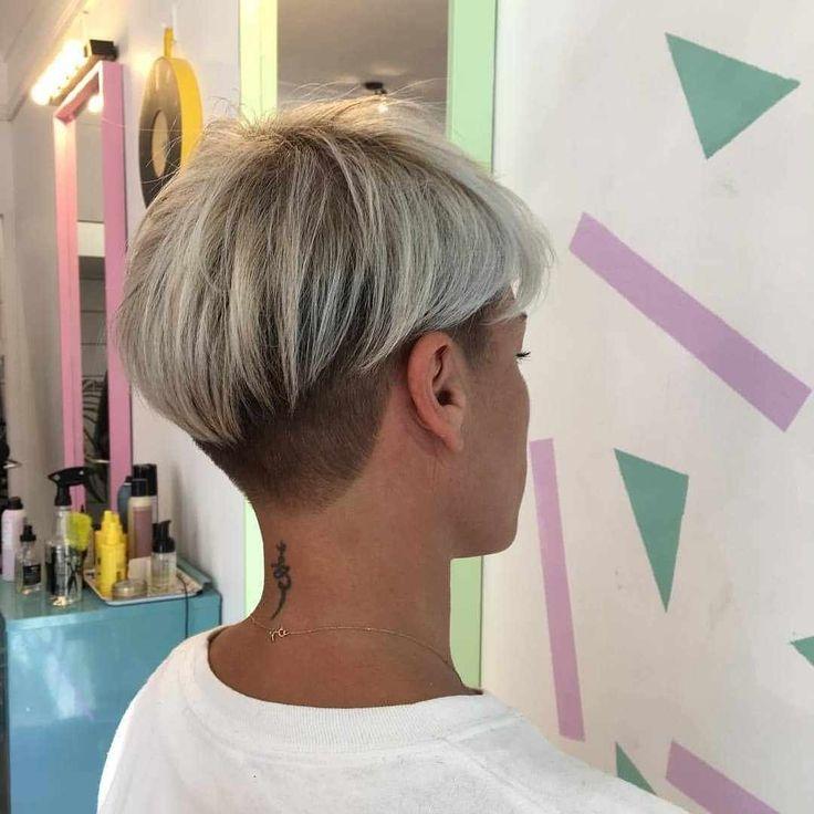 Kurze Frisuren für Frauen liegen auch 2019 im Trend – #Pixie #shorthair …