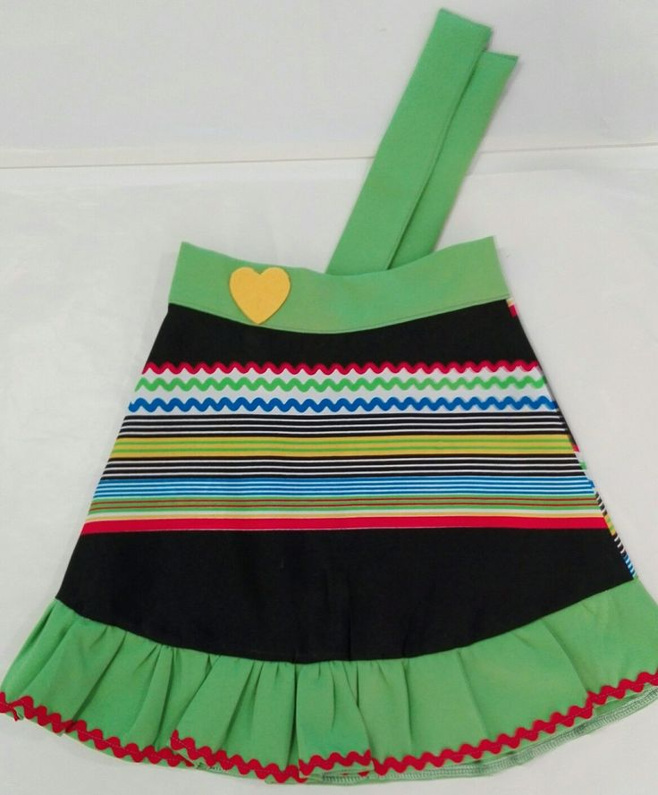 African inspired girl skirt