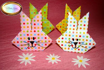 Origami Maniacs: Origami Easter Bunny
