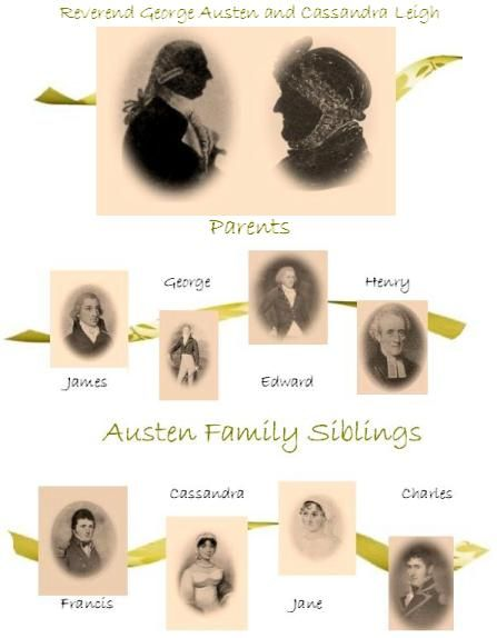Austen family image created by Vic, Jane Austens World
