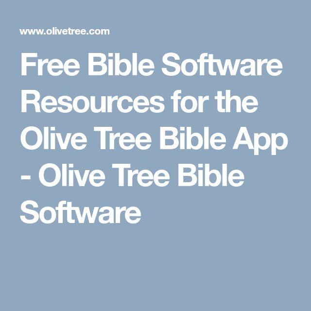 Olive tree bible software / Corelle dinnerware sale canada