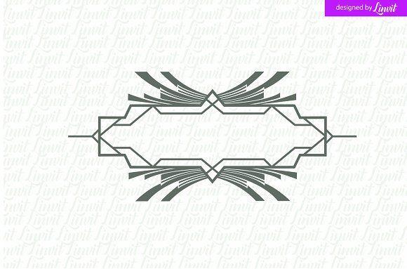 Luxury , Royal Wedding Logo by Linvit on @creativemarket