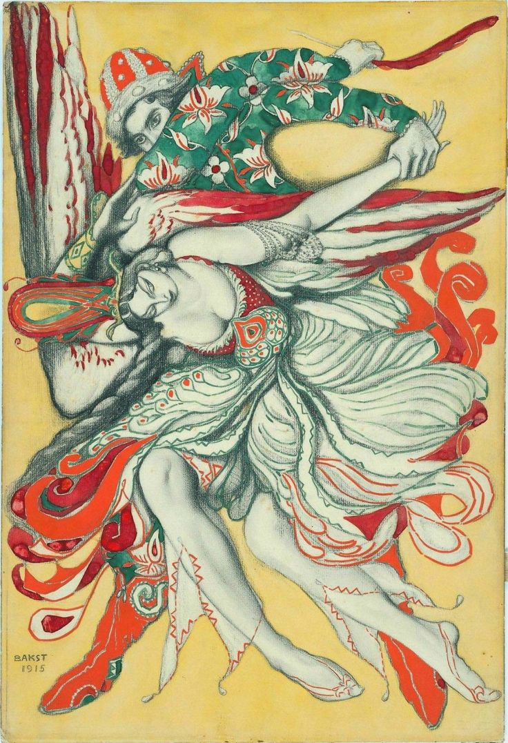 Театральные костюмы Льва Бакста.: lilac2012