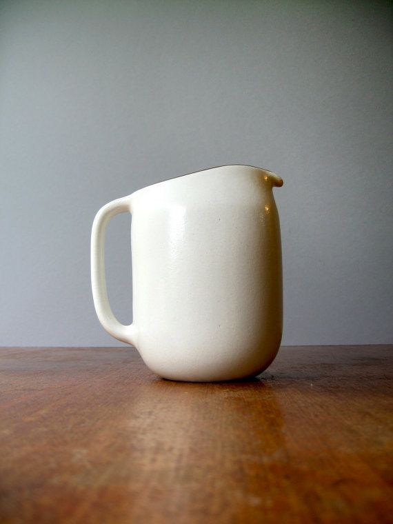Heath Ceramics Pitcher in Opaque White by luola on Etsy, $60.00