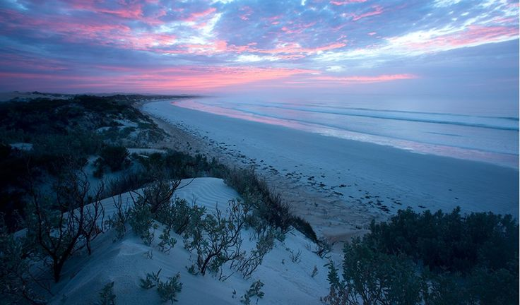 Sunrise at Sensation Beach, Coffin Bay National Park. Eyre Peninsula. South Australia.