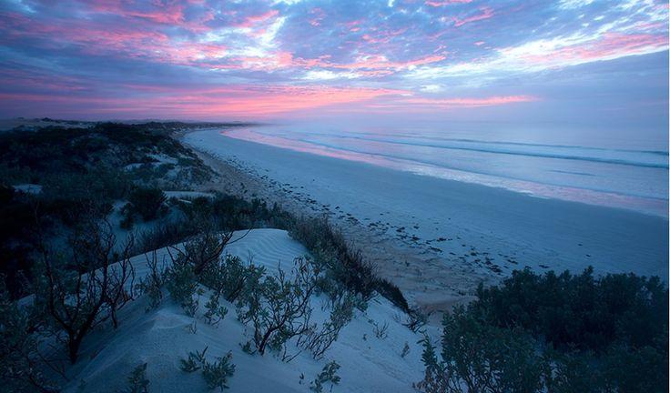 Sunrise at Sensation Beach, Coffin Bay National Park. Eyre Peninsula. South Australia.
