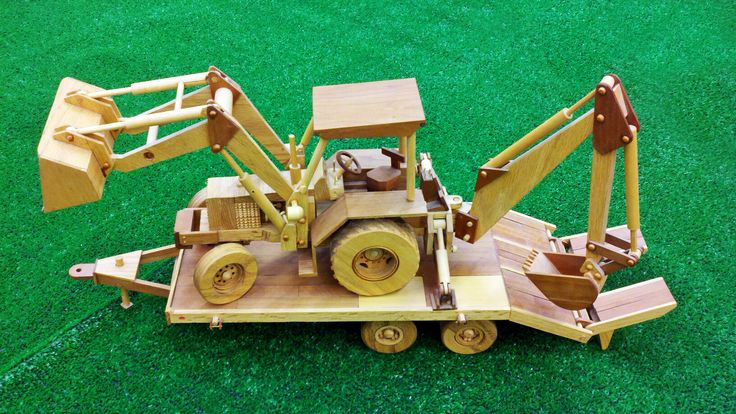 These tiny tractors require more than 800 individual pieces to build.  Larry, from store 3304 in Reno, built this one for his grandchildren.