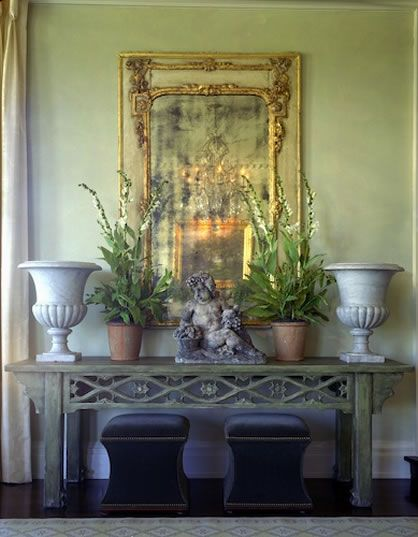 Lovely shade of green...South Shore Decorating Blog: James Michael Howard (Part 1)