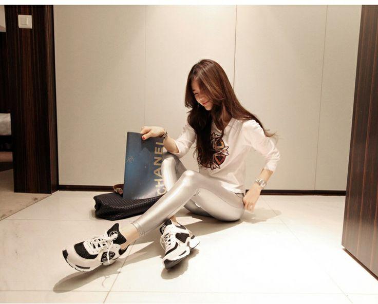 EY50372-Silver | Butik Fashion Import Murah | Supplier - Grosir Baju Tas Import Online™ EY50372-Silver Retail Price  Rp. 116,000,- Legging ---- Brand : OEM Original Product : China Fabric : Satin Waist : 58-76cm Hip : 70cm Thigh : 38CM Length : 87cm 250grams