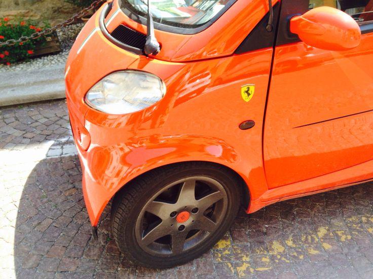 #Smart pretending to be a #Ferrari #Cars