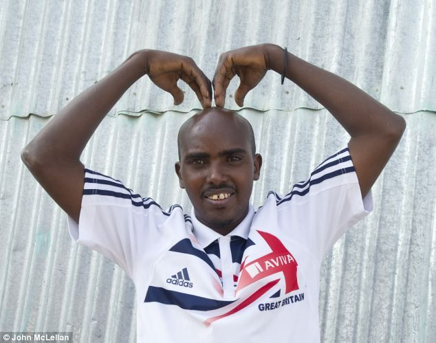 Hassan Farah - Mo Farah's twin brother who isn't a marathon runner. Genes and environment.