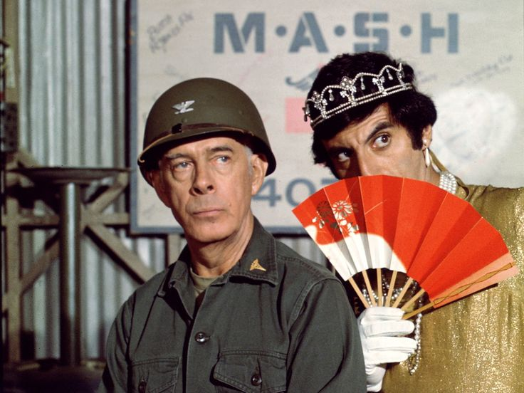 Colonel Potter and Corporal Klinger- Mash