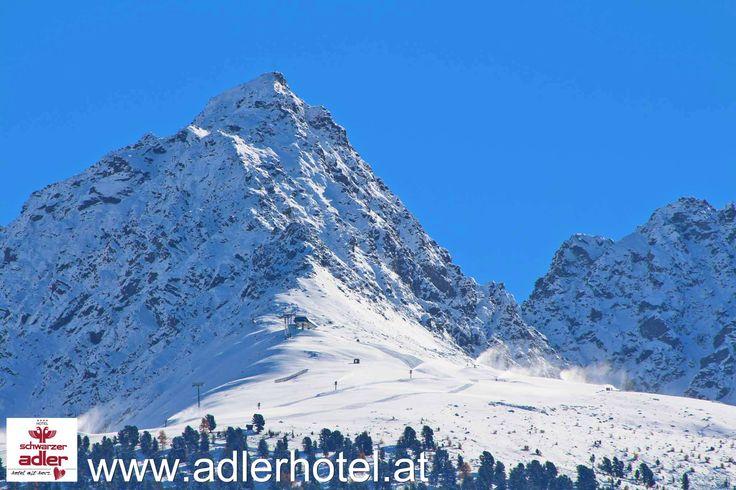 Im Skigebiet Nauders laufen schon die ersten Vorbereitungen für die diesjährige Skisaison