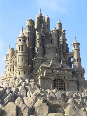 Wonderful Sand Castle Picture.