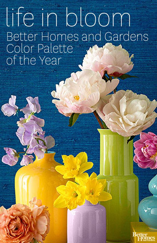 Check out our color palette of the year that's pretty, and truly livable: http://www.bhg.com/decorating/color/schemes/2014-palette-of-the-year/?socsrc=bhgpin041014paletteoftheyear&page=8