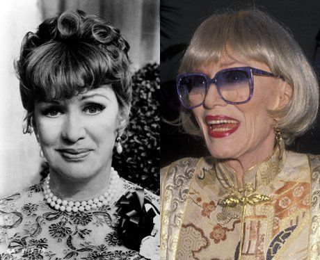 Grease 2 Cast Then and Now | Eve Arden then and now