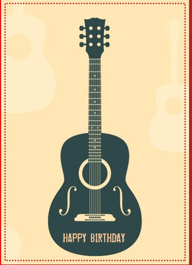 Happy Birthday guitar