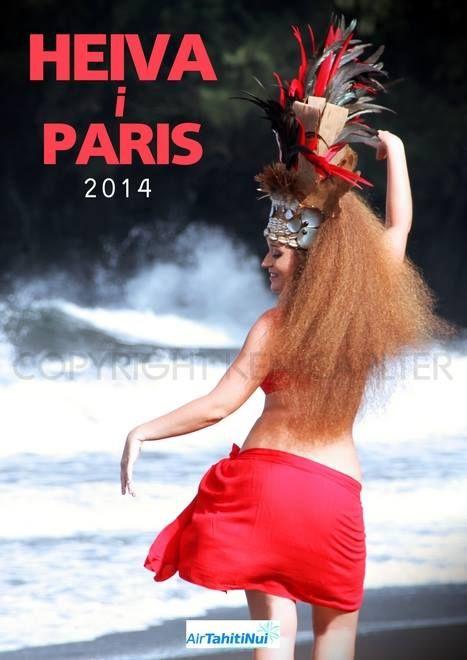 Very pleasant to participate in Heiva i Paris 2014