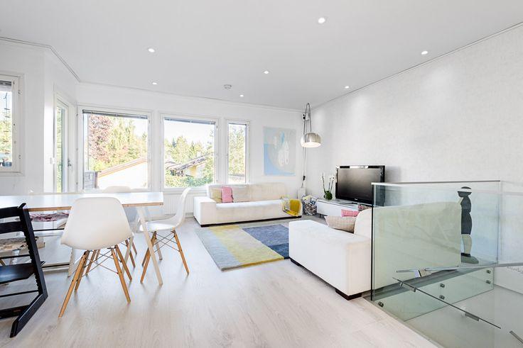 living room, hay loop table, hay colour carpet, glass