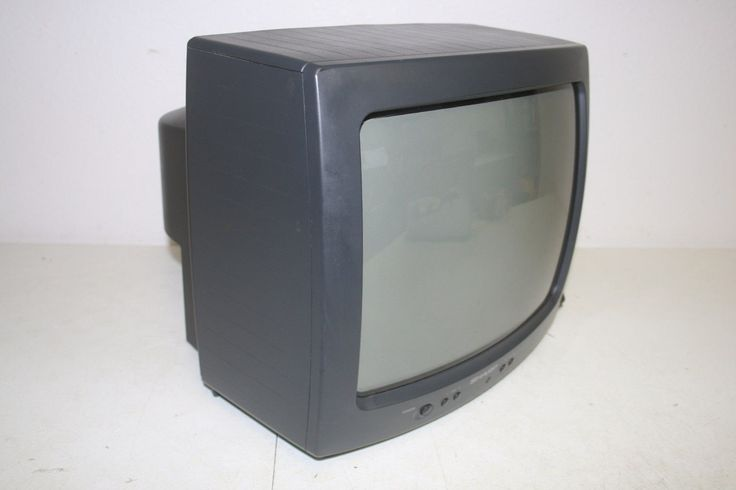 """Sharp 13g M60 13"""" CRT TV Television Tested with Remote   eBay"""