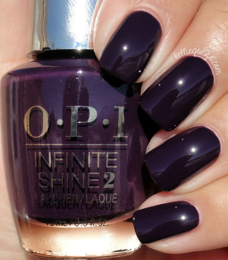 OPI Infinite Shine I'll Have a Manhattan @kelliegonzoblog