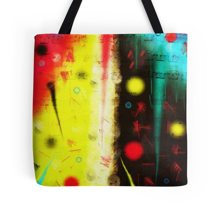 Carnival by Silvia Ganora - #totebags #bags #redbubble #discount #apparel #homedecor  20% off  Use code SAVETWENTY