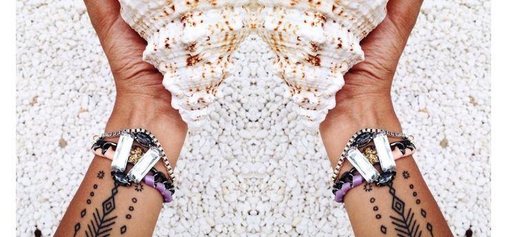 Bracelet Monad Design #bracelet#monaddesign#fashion#shell#summer#jewelry